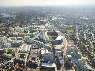 A vibrant new neighbourhood for Wembley Park